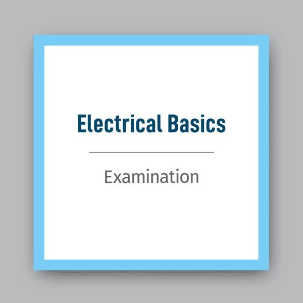 Electrical Basics Exam