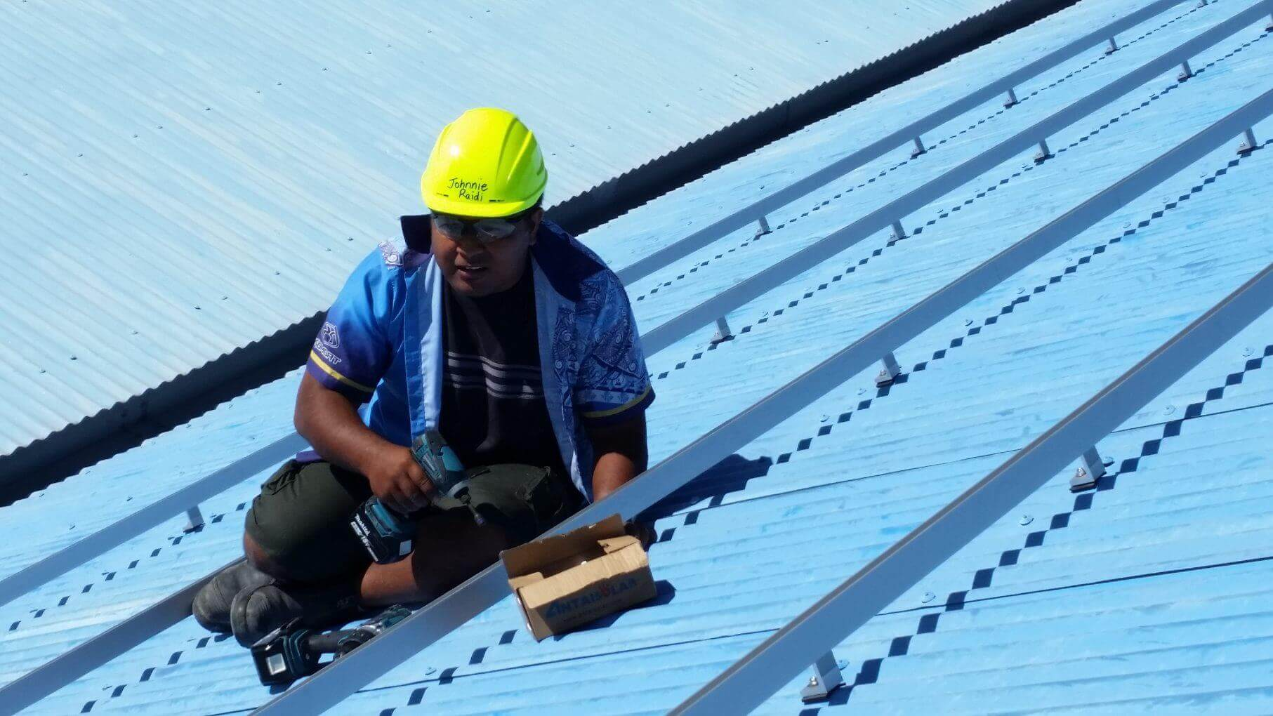 GSES Training: PV Gains a Further Foothold on Nauru