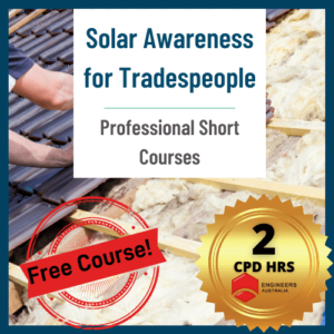 Free online Solar Course for Tradespeople