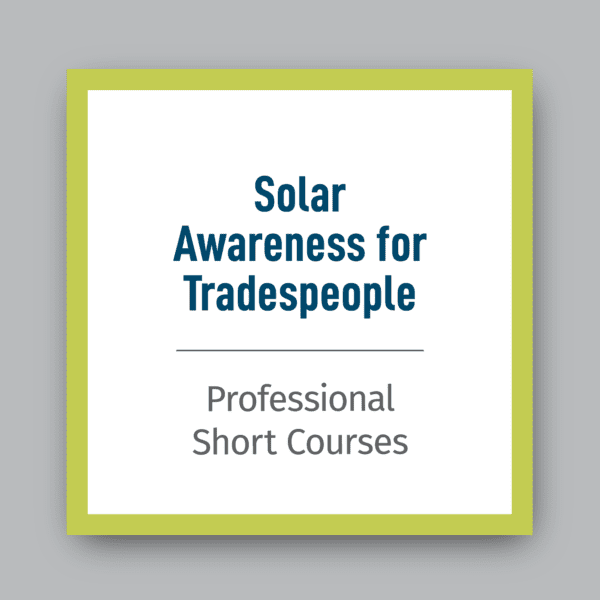 Solar-Awareness-for-Tradespeople-Pro-Short-Course