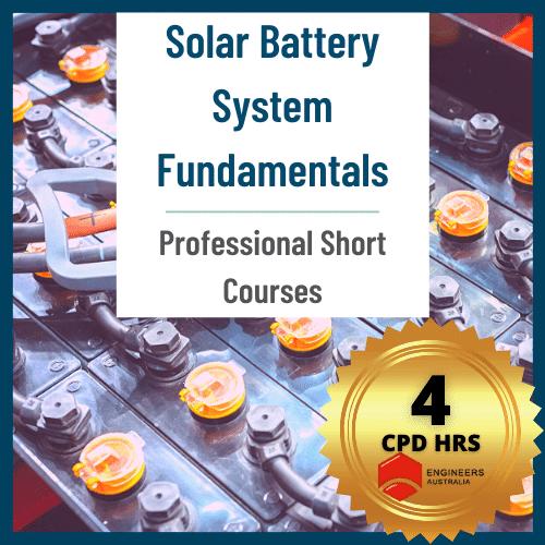 Solar Battery System Fundamental Course
