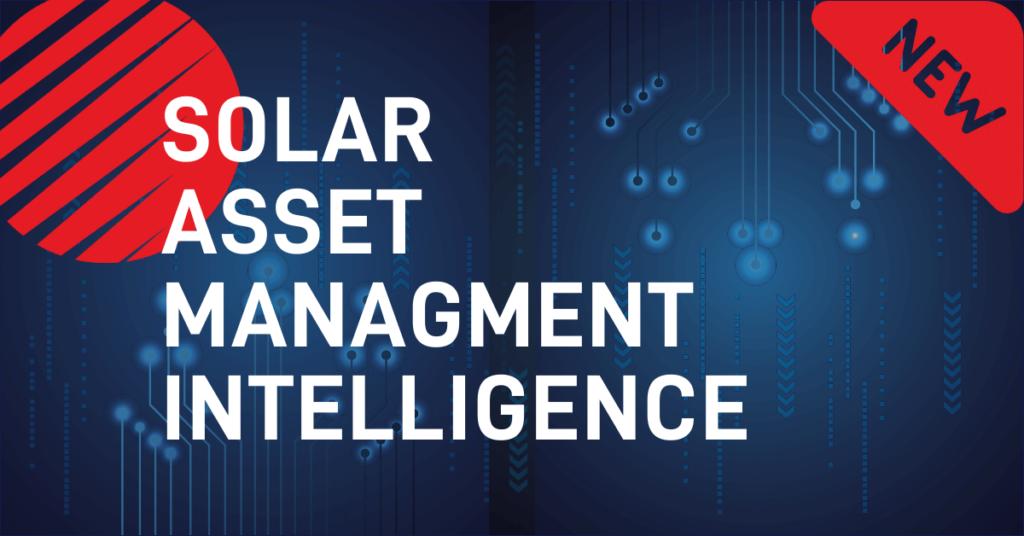 Solar Asset Management Intelligence graphic