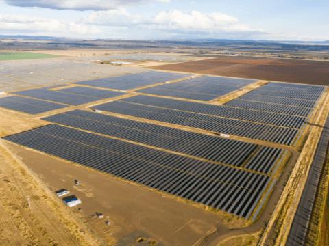 Utility Scale Solar Farm in Australia